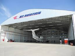 New Hangar of Jet Aviation