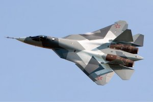 Sukhoi's flight test T-50PAK-FA