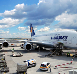 airbus-a380-800-of-lufthansa-ground handling agent vietnam