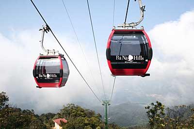 Bana Hill cable car
