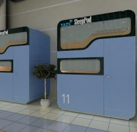 Sleeping pods_Noibai airport