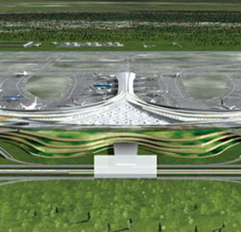 Long Thanh International Airport model
