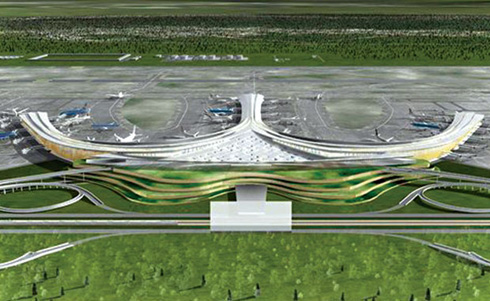 Long Thanh International Airport model