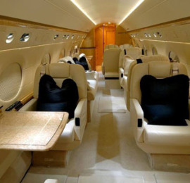 private-jet-charter-Gulfstream_G5_Interior